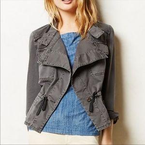 Anthropologie Hei Hei Drawstring Anorak Jacket